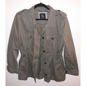MOVING SALE Cotton On military style green jacket